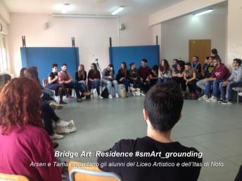 Tamar e Arsen incantano gli alunni del Liceo Artistico e dell'ITAS di Noto 800