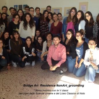 Ultimo incontro con le V classi del Liceo Classico e delle Scienze Umane di Noto 800